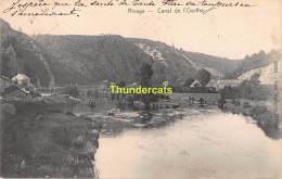 CPA  RIVAGE CANAL DE L'OURTHE - Comblain-au-Pont