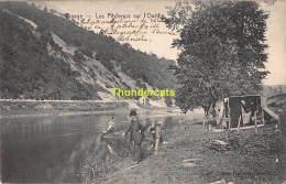 CPA  RIVAGE  LES PECHEURS SUR L'OURTHE - Comblain-au-Pont