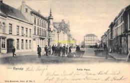 CPA  RONSE RENAIX PETIT PLACE NELS SERIE 47 NO 7 - Renaix - Ronse