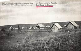 Een Kamp In Ruanda          A 2480 - Ruanda-Urundi