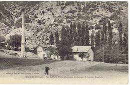 26  BECONNE  Sur Lez, Usine électrique, Valreas, Dieulefit - Autres Communes
