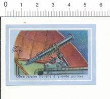 Chromo Image Chocolat Prado / Observatoire - Lunette à Grande Portée / Téléscope Astronomie / 6/VIN-228 - Autres