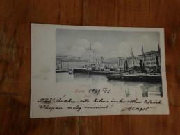 Fiume Porto 1899 - Croatie