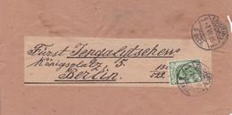 RUSSIE LETTRE DE 1895 POUR BERLIN - 1857-1916 Imperium