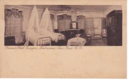POSTAL DE SAN JOSE DEL GRAN HOTEL EUROPA, BED-ROOM (M. GOMEZ MIRALLES) (COSTA RICA) - Costa Rica