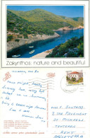 Limionas, Zakynthos, Greece Postcard Posted 1992 Stamp - Greece