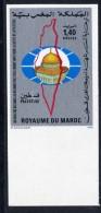 MAROC N°934 PALESTINE NON DENTELE - Maroc (1956-...)