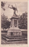 POSTAL DE ALAJUELA DEL MONUMENTO A JUAN SANTAMARIA (M. GOMEZ MIRALLES) (COSTA RICA) - Costa Rica