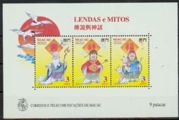 Macau MiNr. Bl. 26 **, Legenden Und Mythen - 1999-... Sonderverwaltungszone Der China
