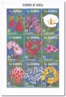 Gambia 1995, Postfris MNH, Flowers - Gambia (1965-...)
