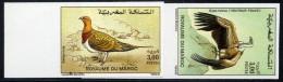 MAROC N°1131/32 OISEAUX NON DENTELE - Maroc (1956-...)