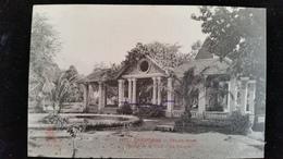 CPA  Cambodge, Phnom, Pnom Penh Jardins, La Voliere - Cambodia