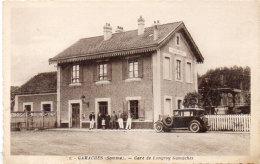 GAMACHES -  Gare De LONGROY-GAMACHES - Auto (91948) - France