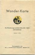Deutschland - Wander-Karte - Hohe Acht Brohl Und Laachersee - Herausgegeben Vom Verkehrsverein Kempenich-Weibern - Masss - Topographische Karten