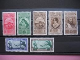 Timbres Colonies Italiennes Emission Général  PA  N°  7 à 13  Dont  11 ** Et 12/13 *  Côte 59.50  € - 1900-44 Victor Emmanuel III