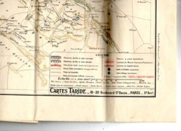 Carte Taride Maroc - Cartes Marines