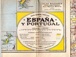 Carte Espagne Portugal - Cartes Marines