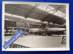 Rare PHOTO / Aviation Hydravion   Blériot PHOTO 1022  Santos - Dumont + SPAD DE CHASSE - Aviation
