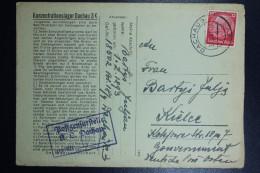 Deutschland KZ Dachau 3K Concentration Camp Dachau Cover With Letter 31-8-1941 To Kielce