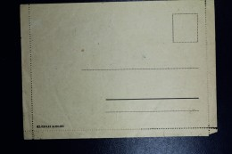 Deutschland Letter Konzentrationslager Buchenwald Command Altenburg  Not Used (RRR) 1942 Fragile - Deutschland