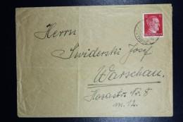 Deutschland Cover From Work-camp Wohnlager Kaiseroda Der Wintershall Ag  Merkers /Rhöngeb.  9-2-1943  RR - Briefe U. Dokumente