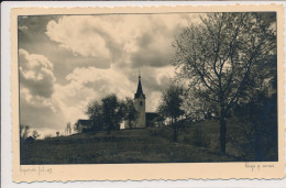 SLOVENIA, POGAČNIK FOTO, CERKEV SV.  MARKA, VRBA, EX Cond. RP PC Used, 1939 - Slovenia