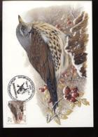 Belgie Buzin Vogels Birds 2792 ROLZEGEL RR Maximumkaart RR 21fr 7/4/2001 St Georges Sur Meuse - 2001-2010