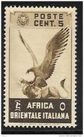 Italian Eastern Africa, Scott #2 MNH Eagle And Lion, 1938 - Italian Eastern Africa