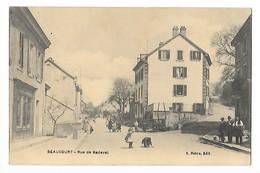 BEAUCOURT  (cpa 90)  Rue De Badevel    -   - L 1 - Beaucourt