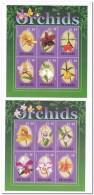 Grenada 2000, Postfris MNH, Flowers, Birds - Grenada (1974-...)