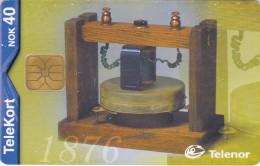 CopY Of Telephone 1876 (Graham Bell) Norway Used - Telephones