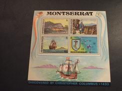 MONTSERRAT - BF 1973 COLOMBO  - NUOVI(++) - Montserrat