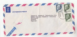 1971 Air Mail YUGOSLAVIA InterExport  COVER  Stamps 1.35  2x 0.30 To Imperial Chemical Industries Ltd GB - 1945-1992 Sozialistische Föderative Republik Jugoslawien