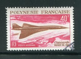 POLYNESIE- P.A Y&T N°27- Oblitéré (belle Cote!!!) Concorde