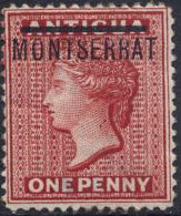 MONTSERRAT N°1 NEUF** - Montserrat