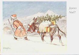 Noël   H17         CeFischer.  Joyeux Noël ( Père Noël ) - Noël