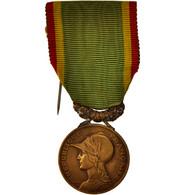 France, Société D'encouragement Au Dévouement, Medal, Good Quality, Bronze - Militari
