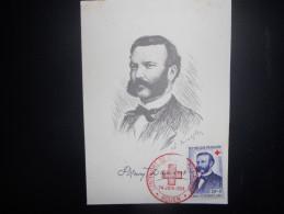 France Cartes Maximun 1959 , Centenaire De La Croix Rouge - Cartoline Maximum