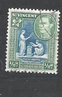 St. Vincent  1938 King George VI, Local Motifs Used - St.Vincent (...-1979)