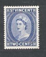 St. Vincent   1955 Queen Elizabeth II * NG - St.Vincent (...-1979)