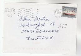 2001 CROATIA  Stamps COVER To Germany - Croatia