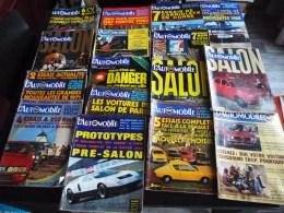LOT DE 16 REVUES : L'AUTOMOBILE 1969 A 1971 SALON DE PARIS VOITURE CITROËN FIAT PROTOTYPE CORSE VOLKSWAGEN ESSAI MAGAZIN - Auto