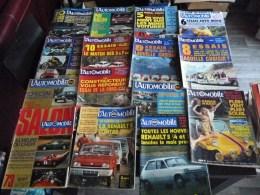 LOT DE 15 REVUES : L'AUTOMOBILE 1969 A 1972 SALON DE L'AUTO PARIS CITROËN MOTO PEUGEOT OPEL FORD SIMCA RENAULT 5 MOTO - Auto