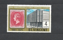 St. Vincent   1971 The 110th Anniversary Of First St. Vincent Stamps * - St.Vincent (...-1979)