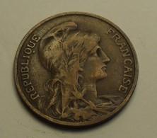 1907 - France - 10 CENTIMES, Dupuis, KM 843, Gad 277 - D. 10 Centimes