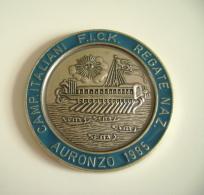 Auronzo  1985  Fick  Campionati Italiani   SPORT CANOTTAGGIO CANOA REGATA REMI MEDAGLIA  MEDAL - Aviron