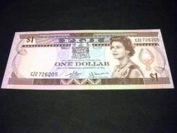 FIDJI 1 Dollars 1980,pick N°76 ,FIJI - Fidji