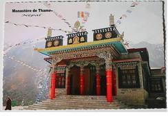 CPM - Népal - Monastère De Thame - Tibet