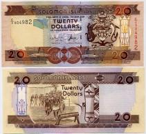 SOLOMON IS.         20 Dollars       P-28       ND (2004)       UNC  [ Sign. 8 ] - Isola Salomon