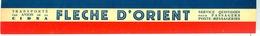 étiquette CINA Flêche D'Orient - Werbung